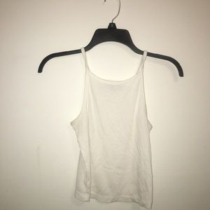 Material girl white crop top